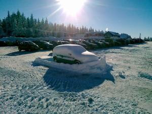 Narty używane lub nowe, warto z nich korzystać, gdy jest tyle śniegu w Jakuszycach
