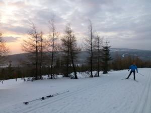 I ja kiedy zostanę biathlonistą.
